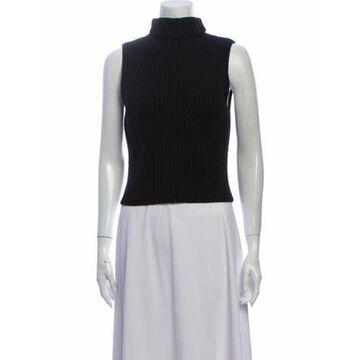 Merino Wool Turtleneck Top Wool