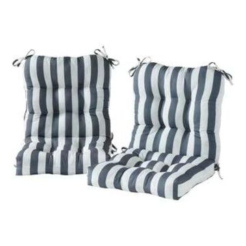 Outdoor 21-inch x 42-inch Chair Cushion (Set of 2)