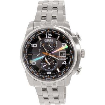 Citizen Men's Eco-Drive World Time AT Radio Watch, AT9010-52E