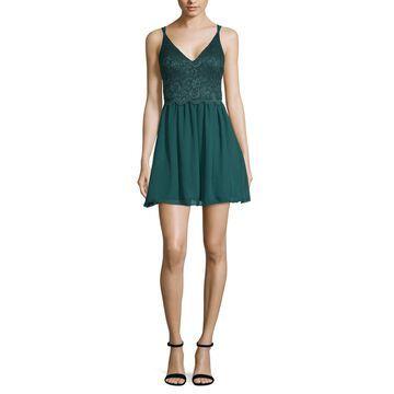 Speechless Sleeveless Fit & Flare Dress