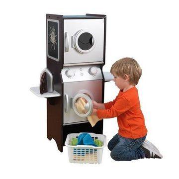 KidKraft Laundry Play Set - Espresso