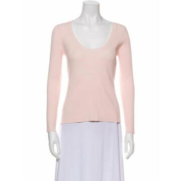 Scoop Neck Sweater w/ Tags Pink