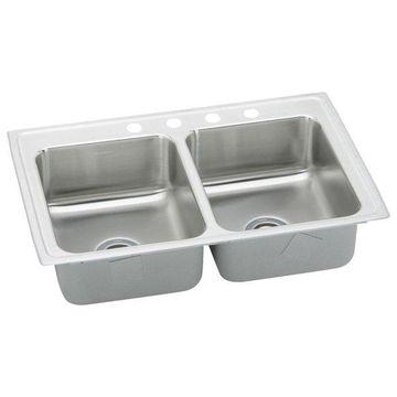 Elkay LRAD2922654 Double Bowl Lusterstone Sink