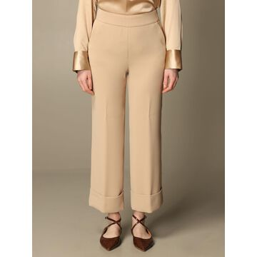 Wide classic Peserico trousers