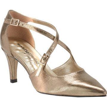 Walking Cradles Women's Stella Pump Bronze Leather