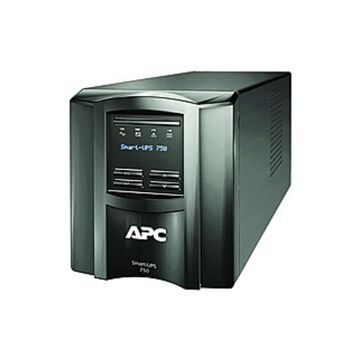 APC by Schneider Electric Smart-UPS 750VA LCD 120V with SmartConnect - 3 Hour Recharge - 5 Minute Stand-by - 120 V AC Input - 120 V AC Output - 6 x NE