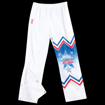Mitchell & Ness NBA Authentic Warm-Up Pants - NBA All-Star - White