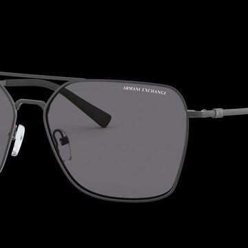 Armani Exchange Man AX2029S - Frame color: Grey, Lens color: Grey-Black, Size 60-15/145