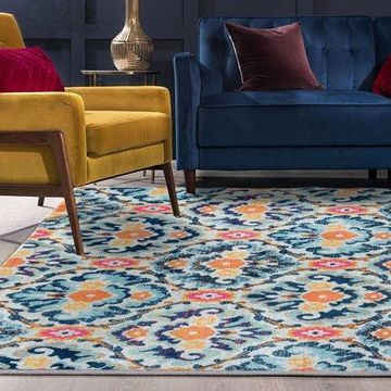 Bliss Rugs Julie Transitional Indoor Area Rug