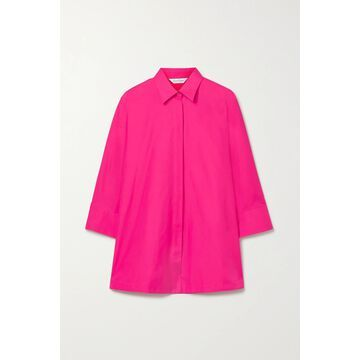 Max Mara - Aleggio Cotton-poplin Shirt - Pink