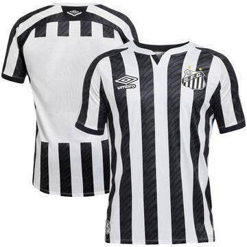 Santos FC Umbro 2020/21 Away Replica Jersey Black/White
