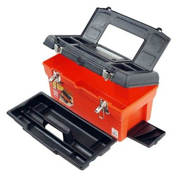 Utility Box with 7 Compartments and Tray by Stalwart