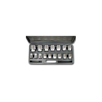 WILMAR WLMW34906 16 Piece 3/4 Dr. Metric Socket Set
