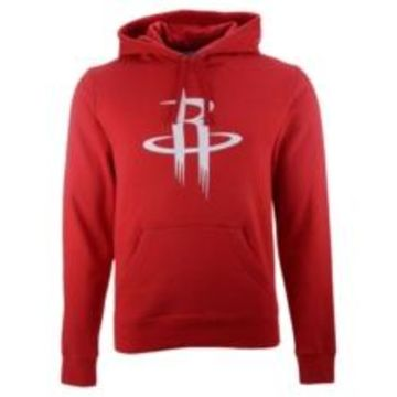 Majestic Men's Houston Rockets Halpert Primary Logo Hoodie