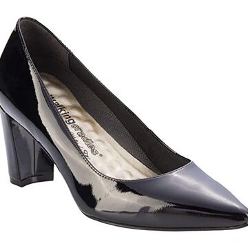 Walking Cradles Samantha (Black Patent) Women's Shoes