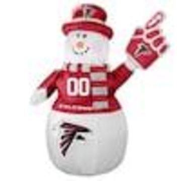 Boelter Brands Atlanta Falcons 7-ft Lighted Snowman Christmas Inflatable