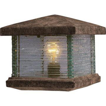 Maxim Lighting Triumph VX 1-Light 9.5-in Wide Earth Tone Outdoor Deck Lantern