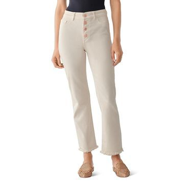 DL1961 Womens Mara Ankle Jeans High Rise Denim - Sandshell