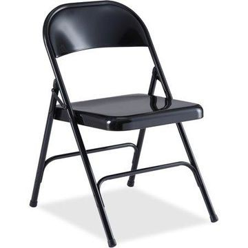 LORELL CHAIR;FOLDING;BLK