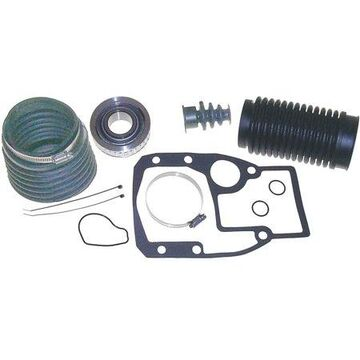 Sierra 2771 OMC Bellows Kit (Outdrive Gasket Set, Gimbal Bearing, Hose Clamp & U-Joint, Exhaust, & Shift Cable Bellows)