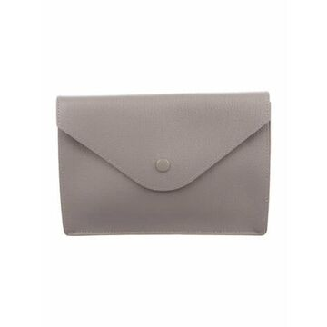 Leather Pouch Grey