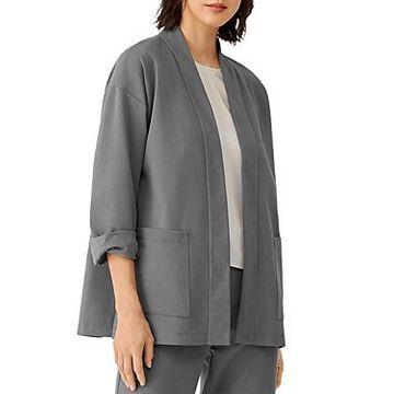 Eileen Fisher High Collar Jacket