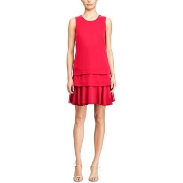American Living Womens Georgette Mini Party Dress