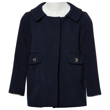 Anya Hindmarch Blue Cotton Coats