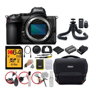 Nikon Z5 Mirrorless Camera with 64GB and Accessory Bundle
