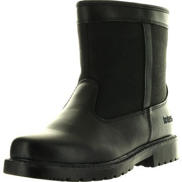 Totes Mens Stadium Winter Waterproof Snow Boots,Black,11