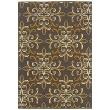 Oriental Weavers Bali 8990H Gray/Gold 1'9