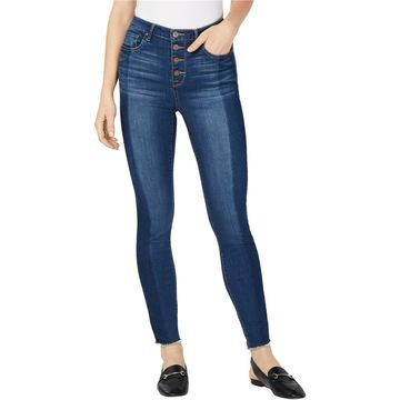 maison Jules Womens Fitted Skinny Fit Jeans
