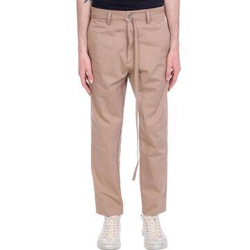 Haikure Mason Pants In Beige Cotton