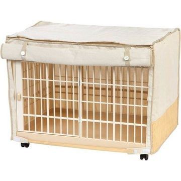 IRIS Small Covered Plastic Animal Cage, White