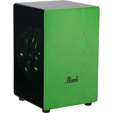 3D Cajon with green faceplate and 3D tree
