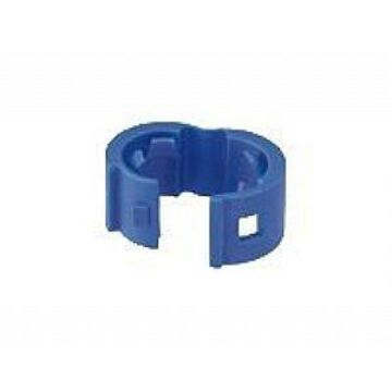 Panduit Patch Cord Color Band - Cable marker - blue (pack of 25 )