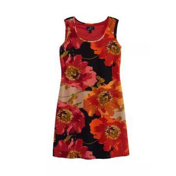 Ronni Nicole Women's Floral Sleeveless Sheath Dress -