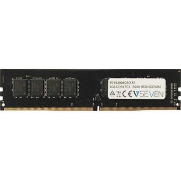 V7 8GB DDR4 PC4_19200 2400Mhz 1.8V DIMM Desktop Memory Module - V7192008GBD-SR - 8 GB (1 x 8 GB) - DDR4 SDRAM - 2400 MHz DDR4-2400/PC4-19200 - 1.20 V - Non-ECC - Unbuffered - 288-pin - DIMM