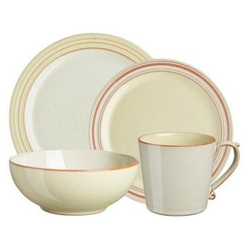 Denby Heritage Veranda 4-Piece Set, Set of 8