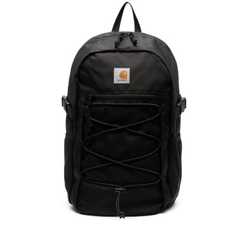 logo-patch backpack