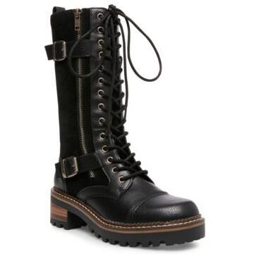 Madden Girl Jessa Lace-Up Boots