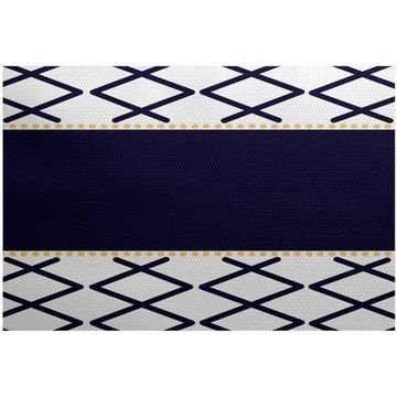 Simply Daisy 4' x 6' Knot Fancy Geometric Print Rug