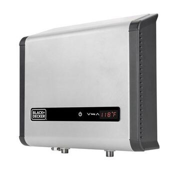 BLACK+DECKER Black and Decker 18 kW 3.7 GPM Electric Tankless Water Heater, Digital Self Modulating Hot Water Heater Electric