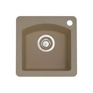 Blanco 441295 Granite Bar Kitchen Sink, Truffle