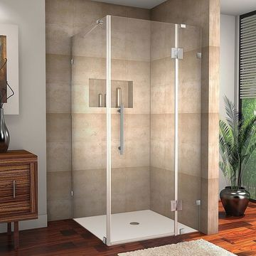 Aston Avalux 34 x 38 x 72-inch Completely Frameless Shower Enclosure