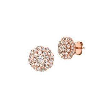 Le Vian  Nude Palette™ 14K Strawberry Gold  Stud Earrings with Nude Diamonds