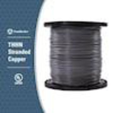 Southwire 2500-ft 14-AWG Stranded Grey Copper THHN Wire (By-the-Roll)