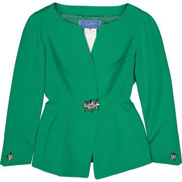 Thierry Mugler Green Wool Jackets