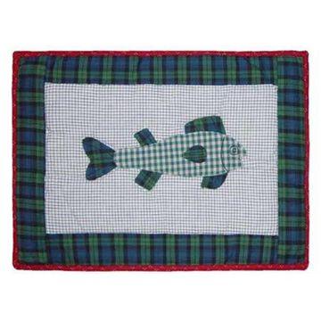 Patch Magic PMCABN-FI Cabin, Fish, Place Mat 19 x 13 inch