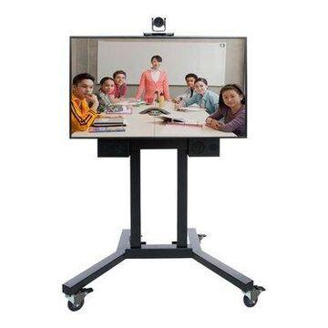Polycom 7200-64910-001 RealPresence EduCart 500 Video Conferencing Kit - 55 Inch - 1280 x 720 - HDMI - Digital Video Camera -Microphone - Auto Gain Co